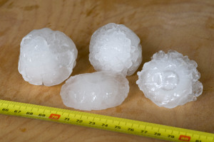 Why does it hail in summer - hailstones